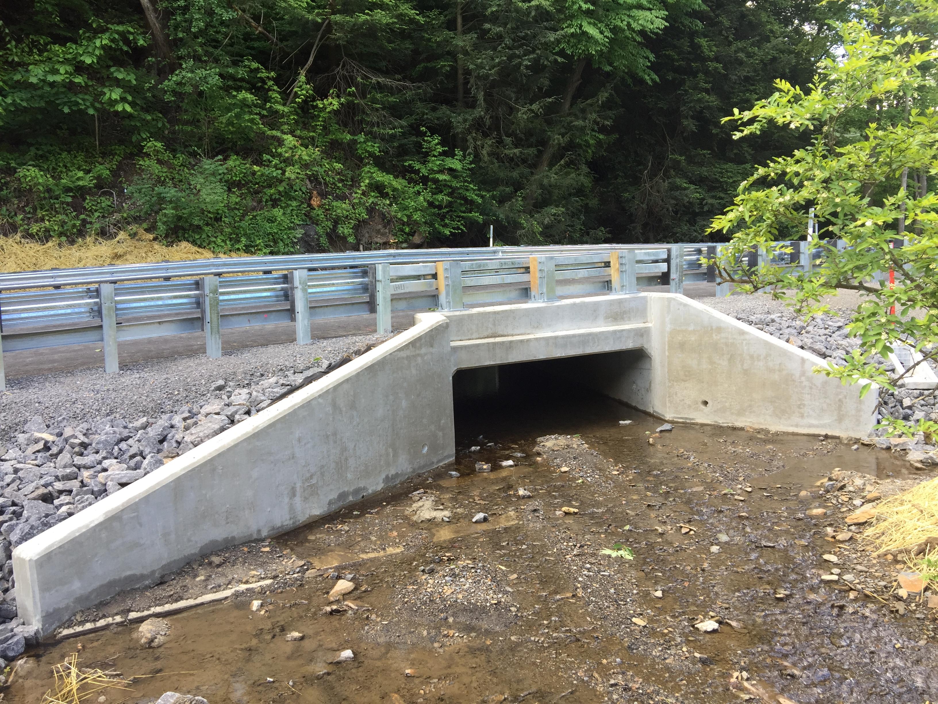 Construction Complete For Church Lane Route 1012 Bridge