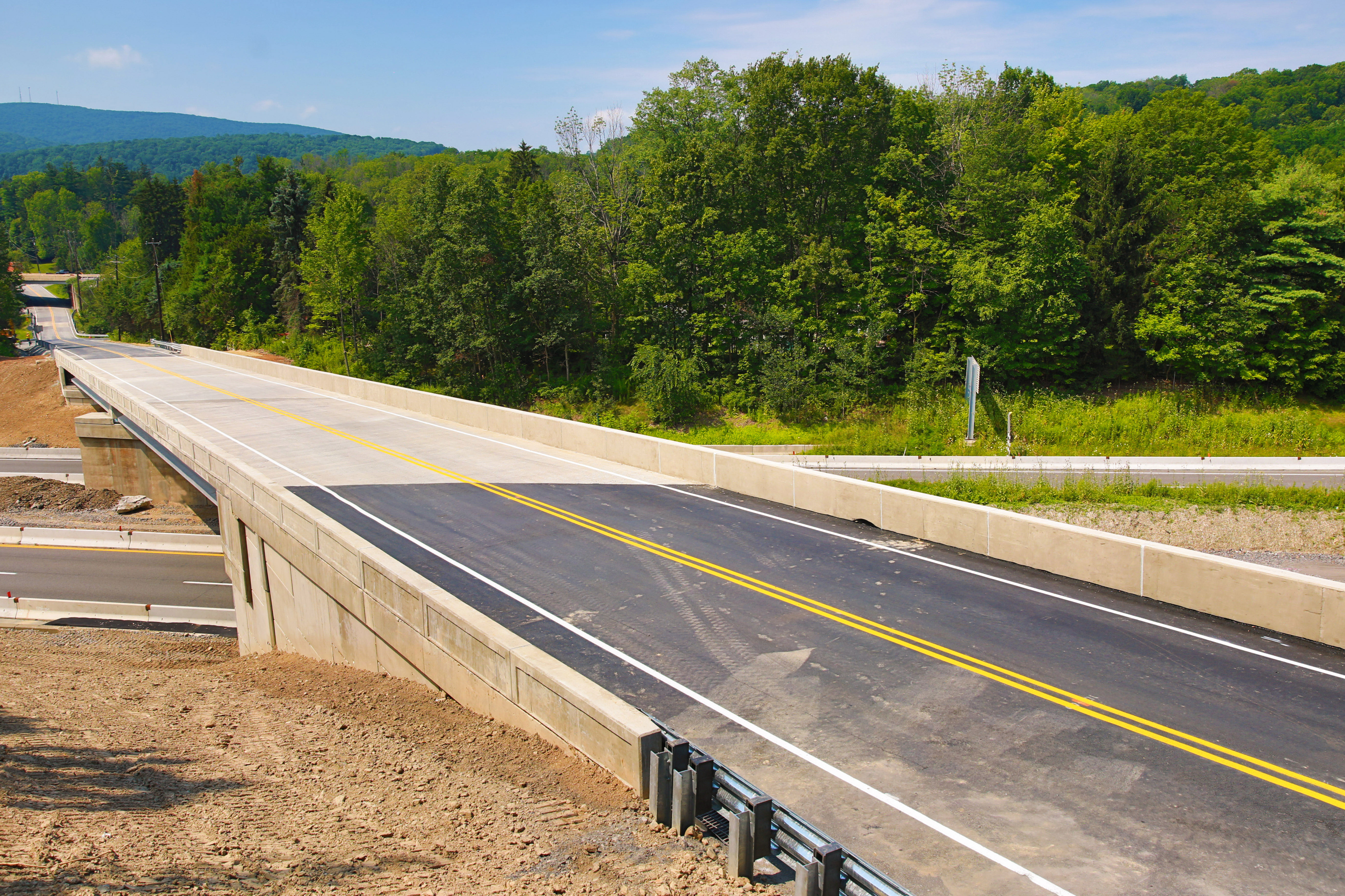 Edella Road Bridge Over I 81 Reopens