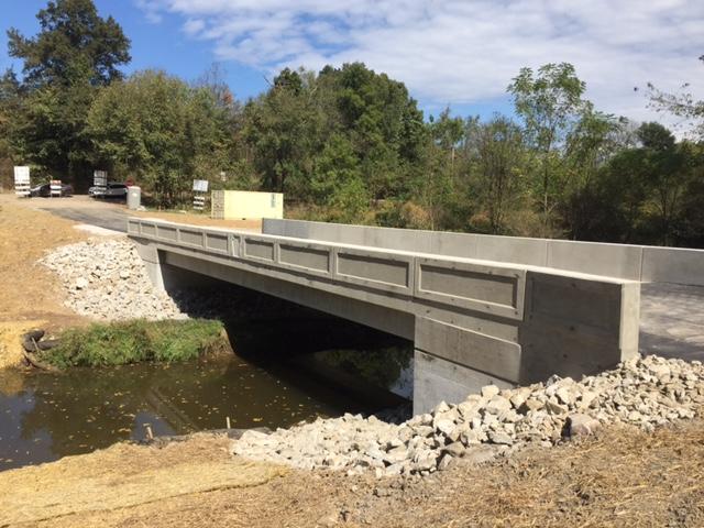 Oak Ridge Road Route 4061 Bridge In Blaine And Hopewell