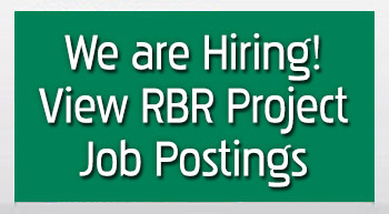 We are Hiring - View RBR Project Job Postings